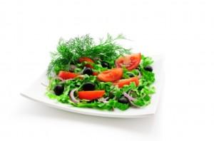zöld vega étel