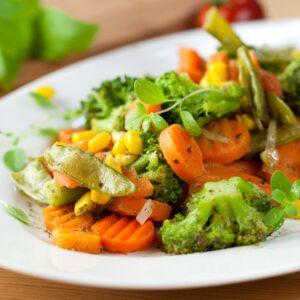 vegetárius, vegán étel